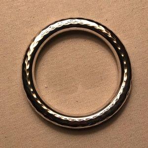 Silpada hammered sterling silver bracelet